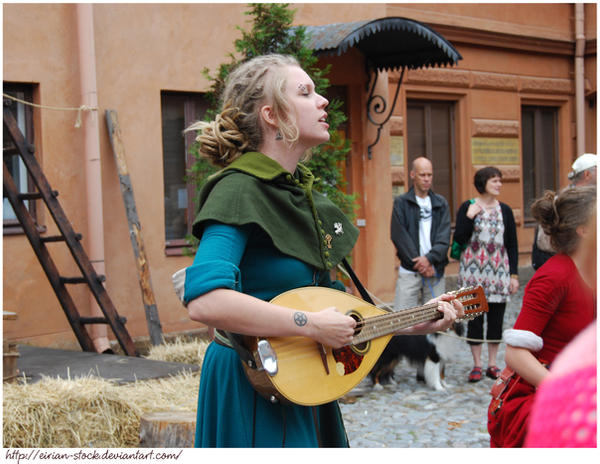 Medieval Music VII by Eirian-stock