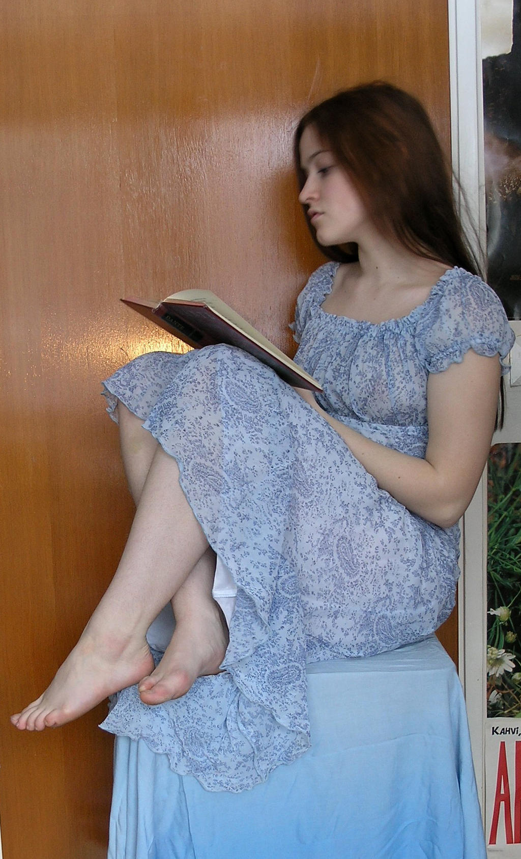 Reading The Book by Eirian-stock