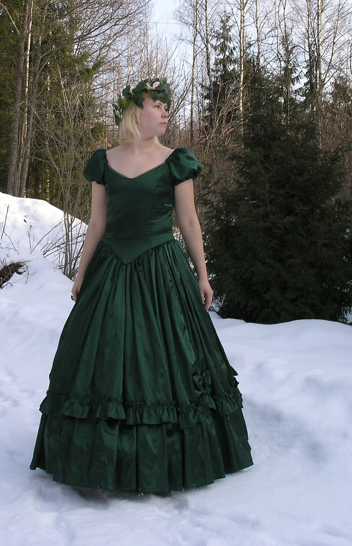 Green Gown 2 by Eirian-stock