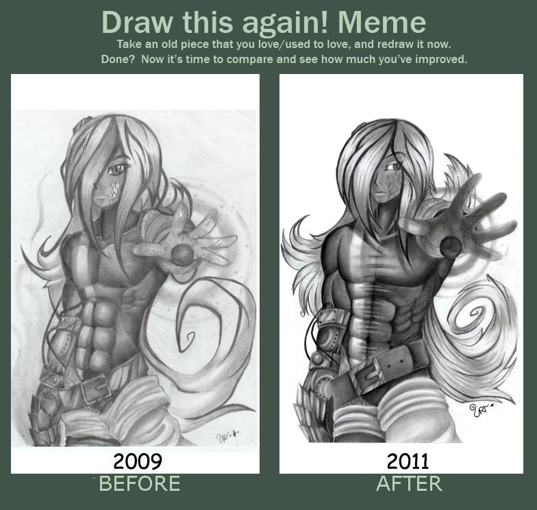 Before and after de satsujin by miyukiZETA