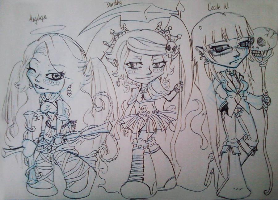 Dorothy Sketch by miyukiZETA