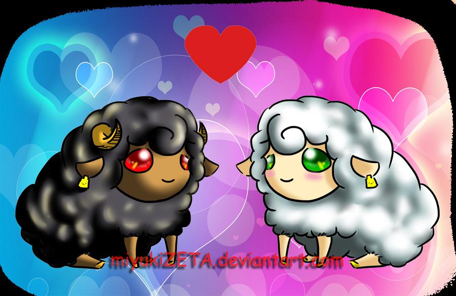 Sheep love by miyukiZETA