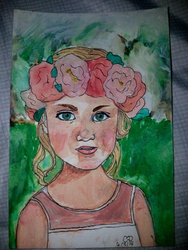 Flower Girl by Squirtgrace