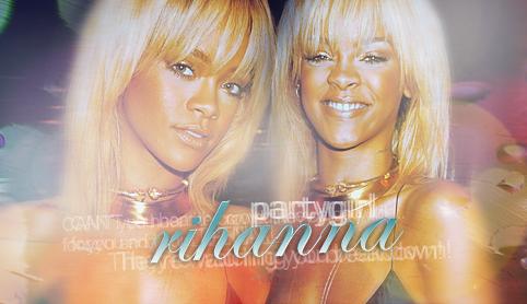 Partygirl Rihanna by MissKPierce