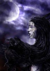 Morrigan, the crow