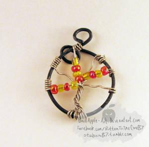 Autumn Tree of Life - Yggdrasil pendant