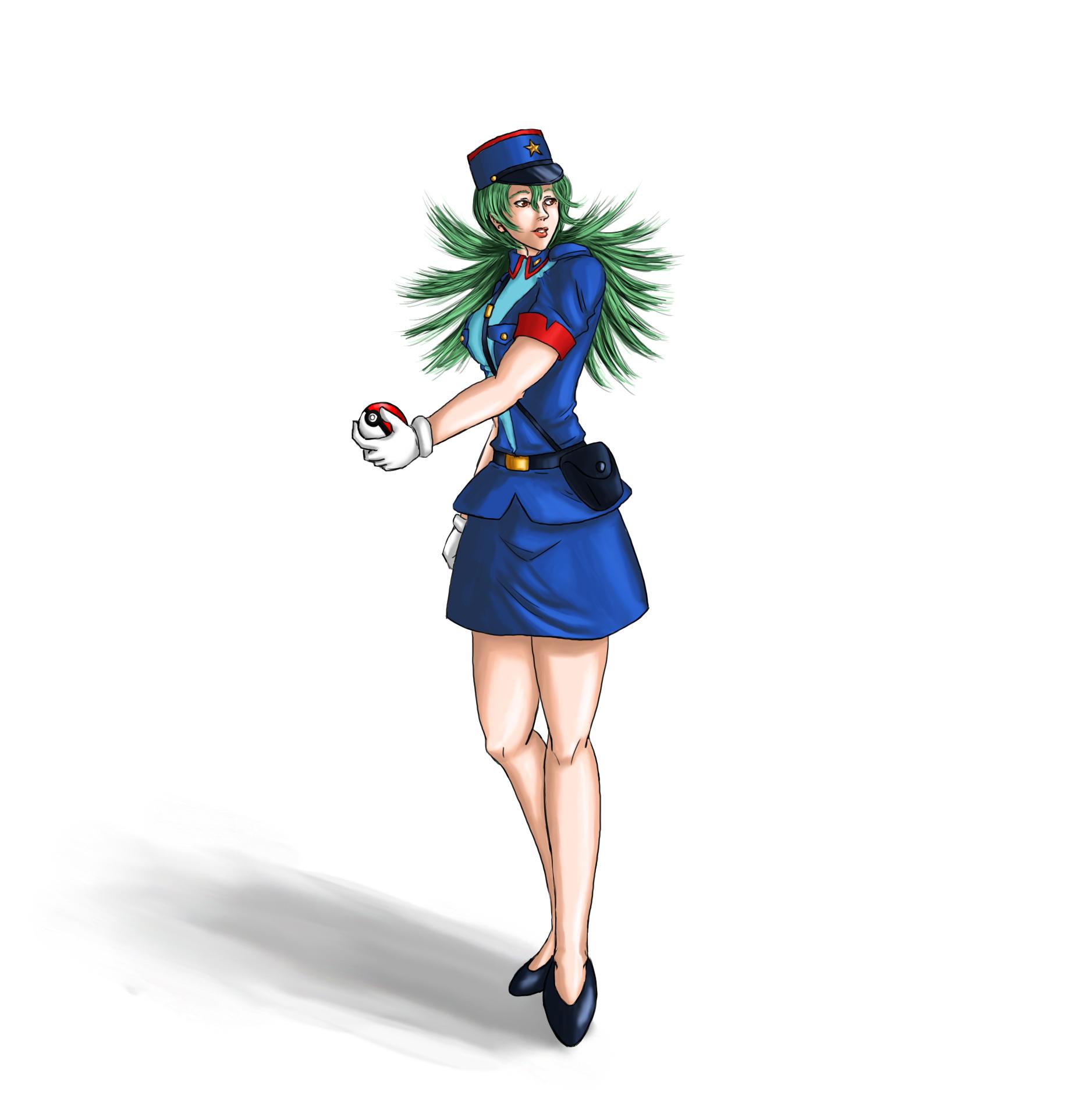 Officer Jenny Horse TF by EduartBoudewijn on DeviantArt