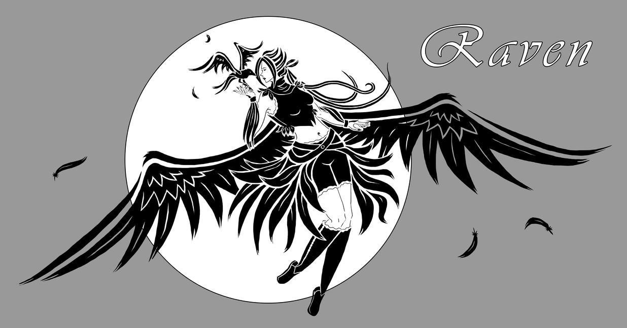 Raven by Sferath