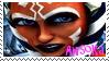Clone Wars Ahsoka Tano Stamp 1 by ZiroTheHutt