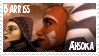 Ahsoka + Barriss Stamp 3 by ZiroTheHutt