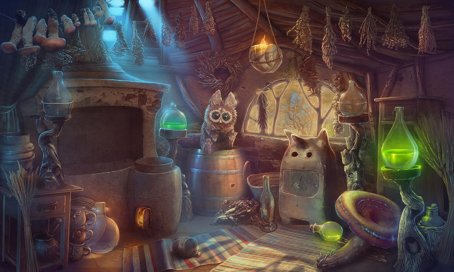 magic kitchen by anna-v-tanke