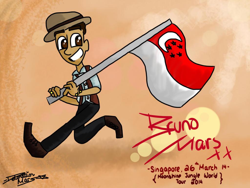 BRUNO MARS LIVE IN SINGAPORE By DetonationMars On DeviantArt