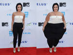 Double Wide Demi Lovato (Before and After)