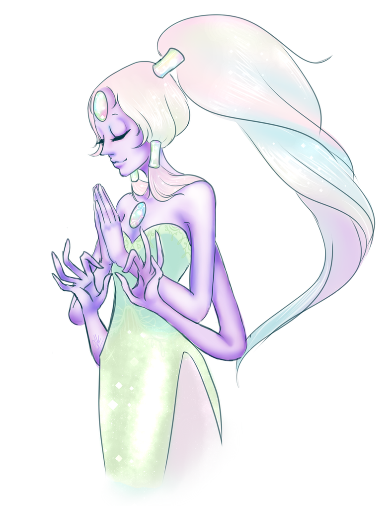 A quick drawing of Opal because I absolutely love her and I seem to be obsessed with her (sorry I'm not sorry though haha <v< )