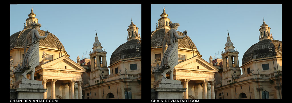 Rome by chain