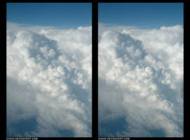 Clouds stereogram by chain
