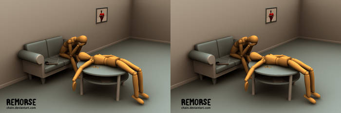 Remorse 2007 - stereogram by chain