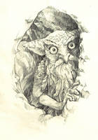 Owl-thing by Azurenex