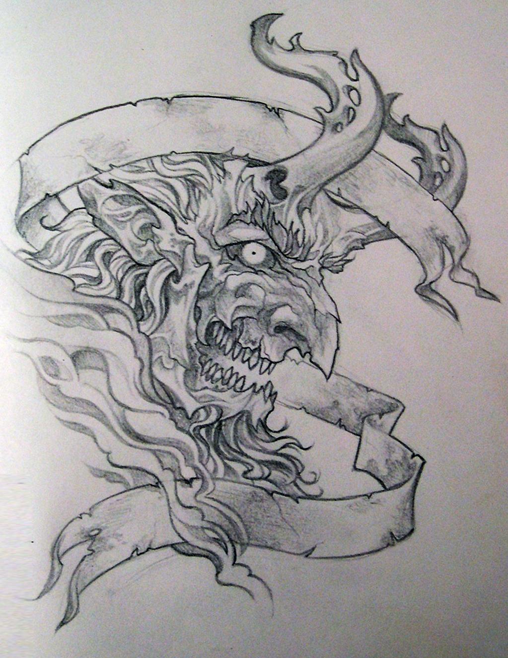 Devilhead by Azurenex