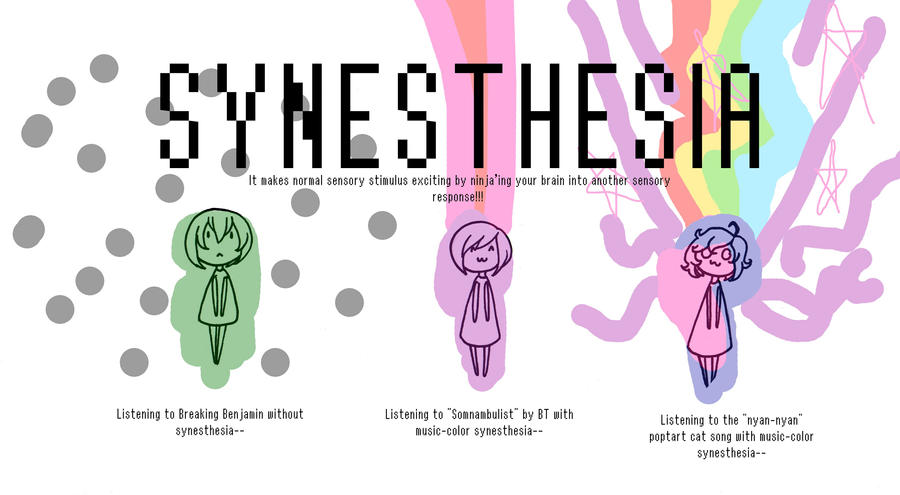 how synesthesia affects everyday life What is it like to have synesthesia a layer of sensory richness in my daily life if it even is synesthesia), they don't really affect me too much however.