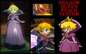 Shadow Queen Custom Amiibo: Lower Price! by Stardust-Kitten