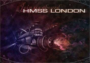 HMSS LONDON by ShadowAeroku
