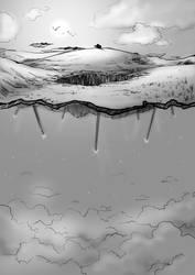 Section through a Floating World by ShadowAeroku