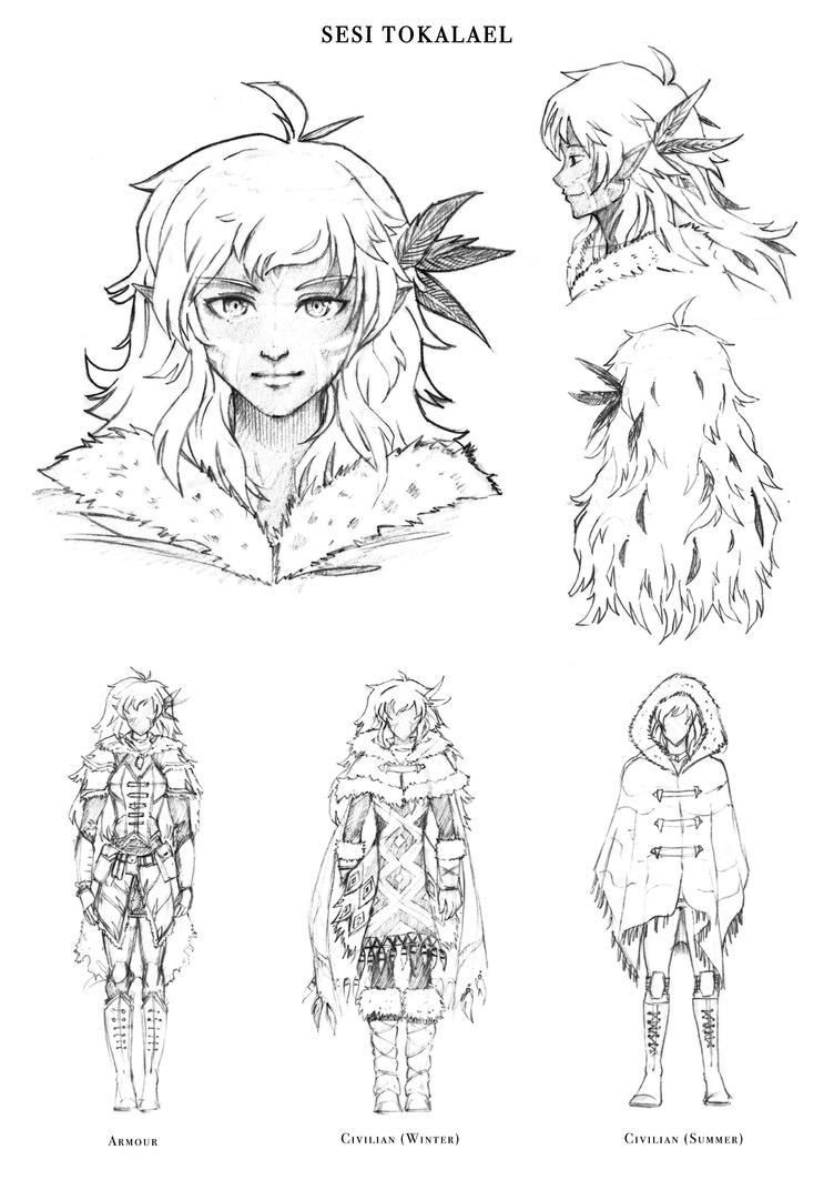 Sesi Character Sheet by ShadowAeroku