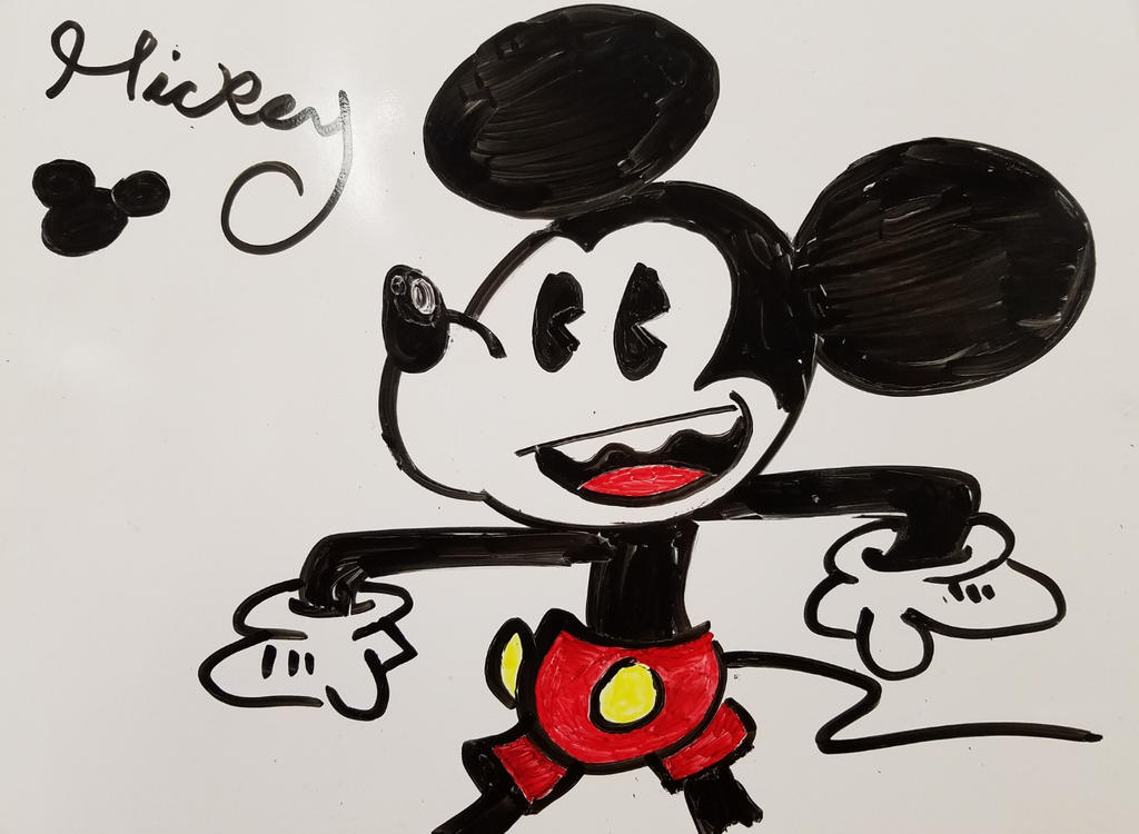 Mickey Mouse by Teh-DG