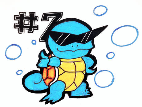 Squirtle Dry Erase