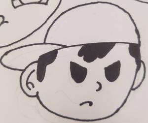 Ness Icon Linework by Teh-DG