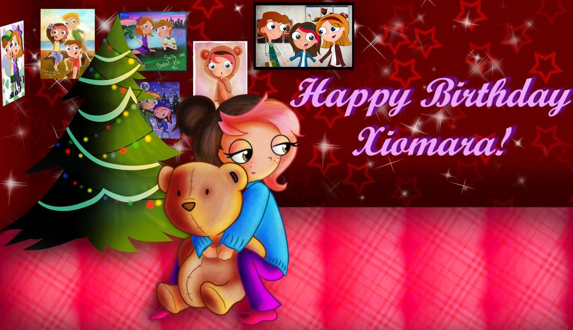 Happy Birthday, Xiomy by CrazyAdventurer