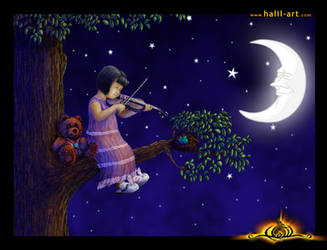 Little Violinist by halil-art