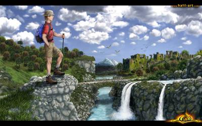 Trekking by halil-art
