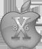 OSx86 Computer Sticker by Btje