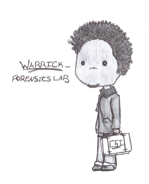 CSI - Warrick Chibi by dattabayo
