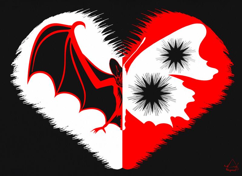 Magic Half Heart By Dark Sacred On Deviantart