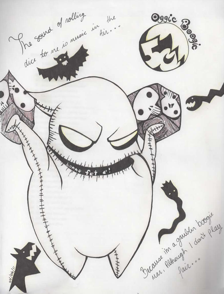 Search Results For The Night Before Christmas Printables Nightmare Before Coloring Pages Oogie Boogie
