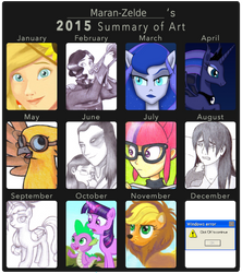 Maran-Zelde's 2015 Summary of Art