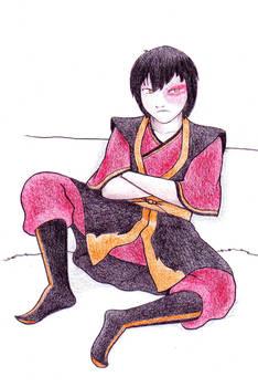 Prince Zuko Sulking
