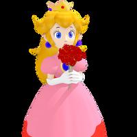 Princess Peach Toadstool - Castle Top (Front) by Vinfreild