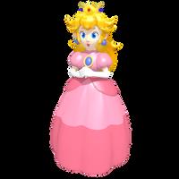 Princess Peach Toadstool Vinfreild 'Game Piece' by Vinfreild