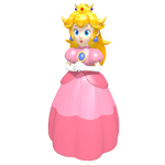 Princess Peach Toadstool Vinfreild 'Game Piece'