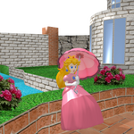 Princess Peach Toadstool - Southern Courtyard