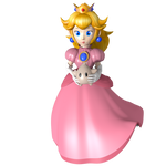 Princess Peach with Luma - Master Pose