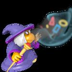 Kammy Koopa's Polygon Blast - Master Pose
