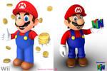 Meet Mario, and Mario. by Vinfreild