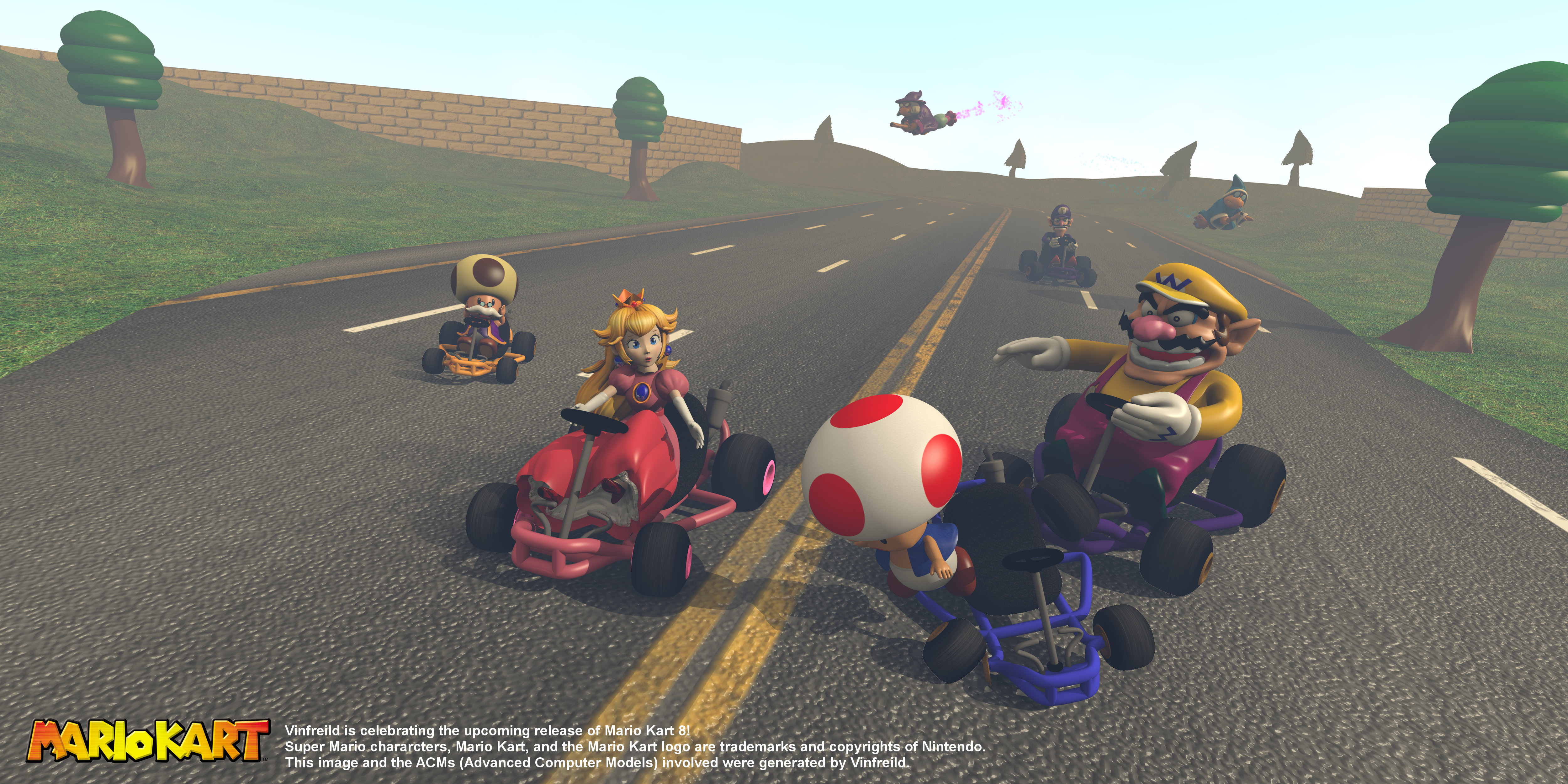 kart frei Nostalgia Compilation   Mario Kart 8 Commemorative by Vinfreild on  kart frei