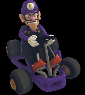 Waluigi - Mario Kart Commemorative Pack