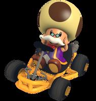 Toadsworth - Mario Kart Commemorative Pack by Vinfreild